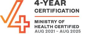 CF 4-year cert - Aug 2021 - Aug 2025