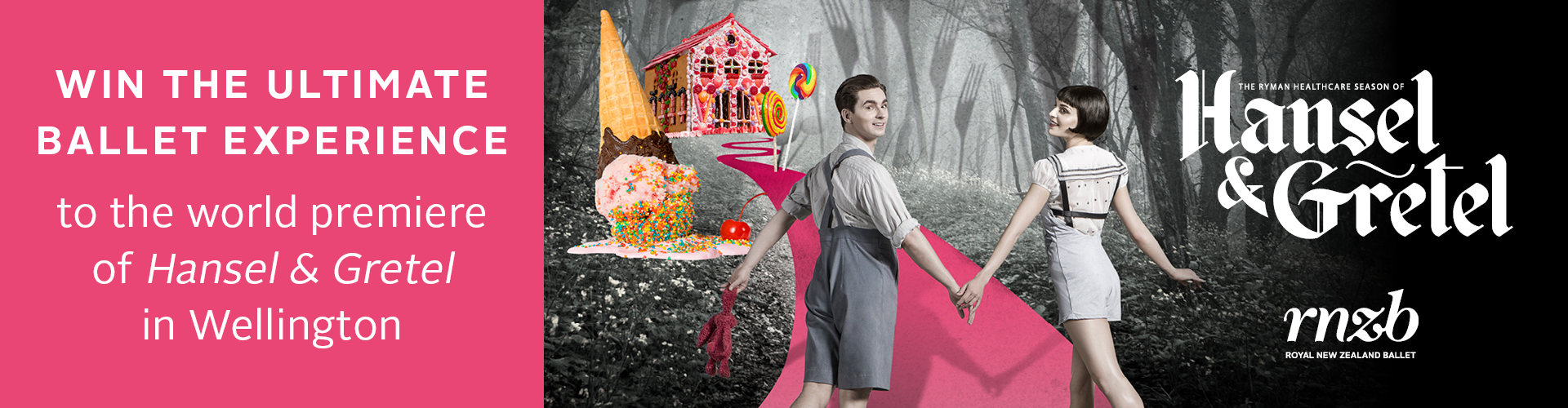 Hansel and Gretel - Landing Page 1920x500px