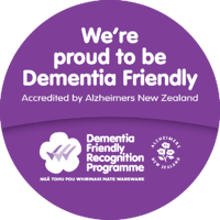 DF Award Alz NZ Dementia Friendly brochure sticker-3