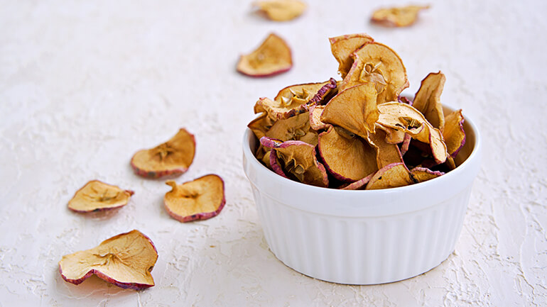 Spiced apple snack