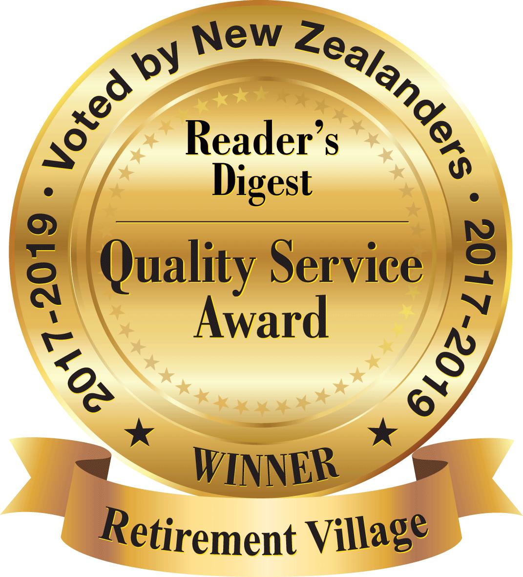 Retirement Villages_QSA-2019-NZ-Gold-Retirement-Village