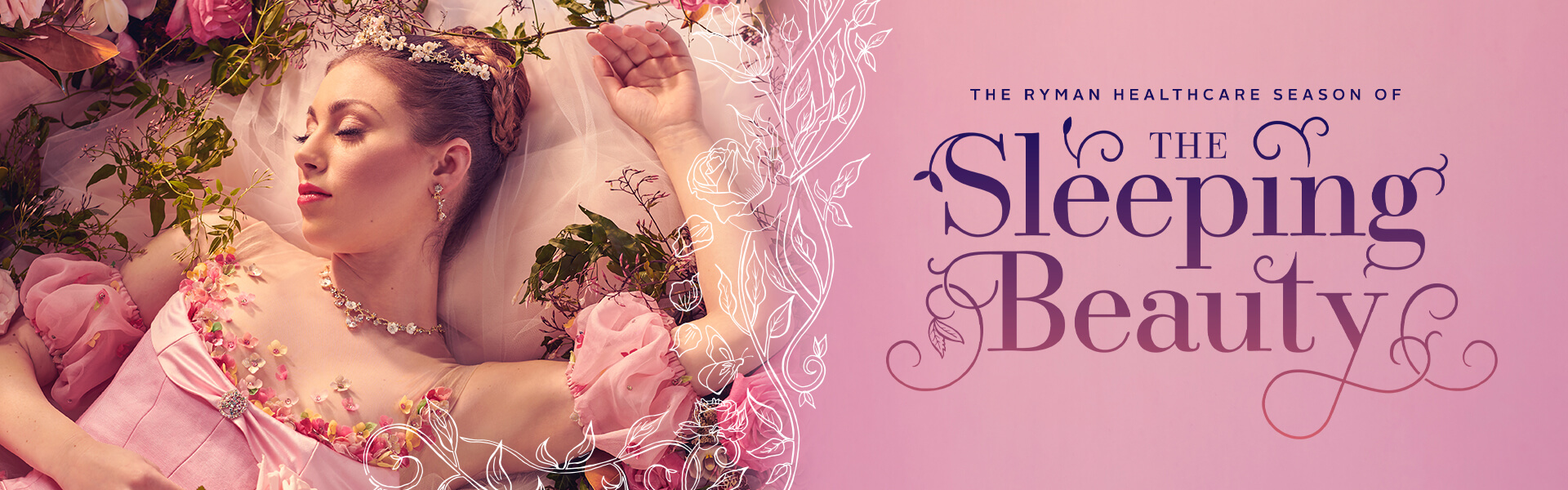 RNZB Sleeping Beauty Website Banner 1920x600